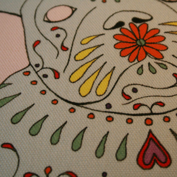 Peppa Cushion – Detail