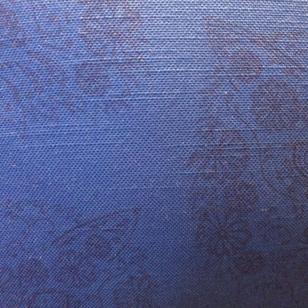 Line Gomez Blue Cushion – Detail
