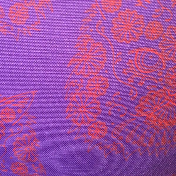 Line Gomez Purple Cushion – Detail
