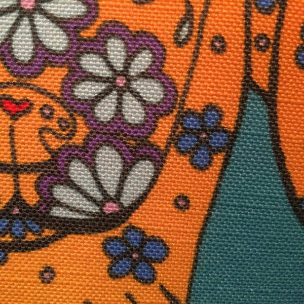 Rocket Cushion – Detail