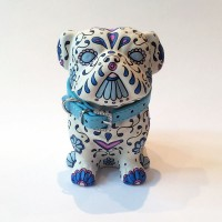 SMALL DARK BLUE PUG04