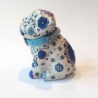 SMALL DARK BLUE PUG05
