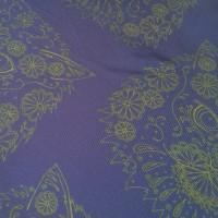BORDER GOMEZ BLUE_Pocket Square_Close Up