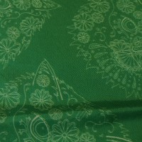 BORDER GOMEZ GREEN_Pocket Square_Close Up