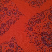 BORDER GOMEZ RED_Pocket Square_Close Up