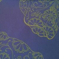 BORDER NED BLUE_Pocket Square_Close Up